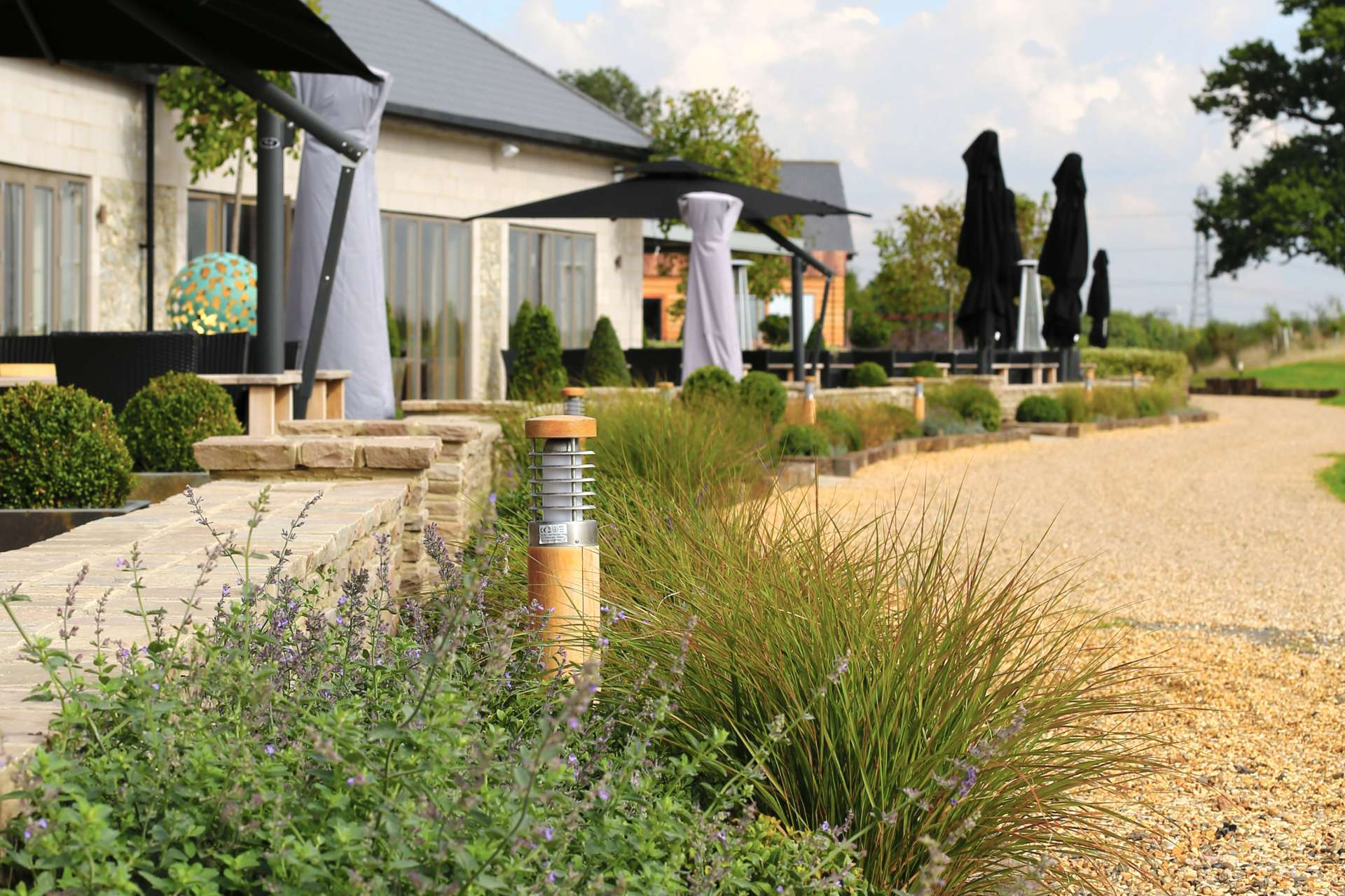 Centurion golf club hertfordshire aralia garden design for Garden design hertfordshire