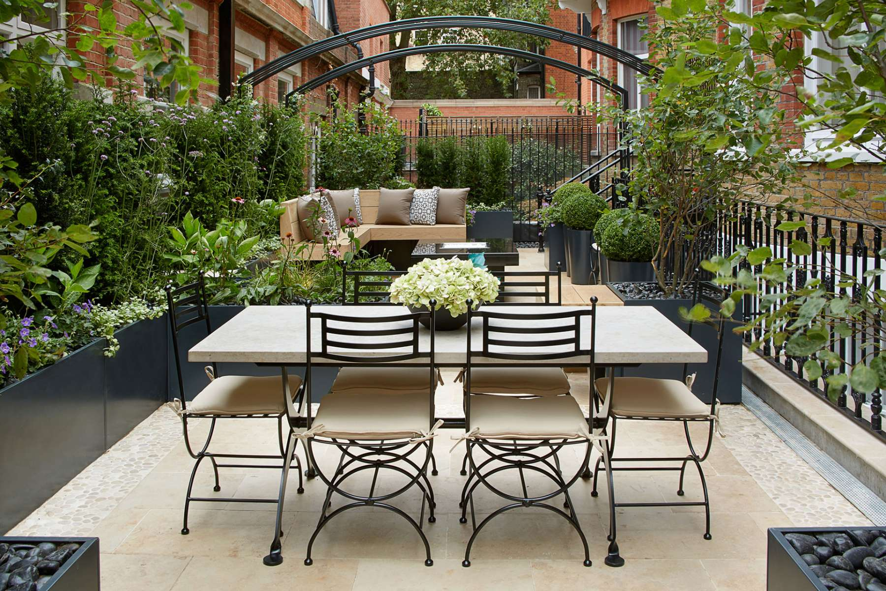 Knightsbridge London Roof Terrace Aralia Garden Design