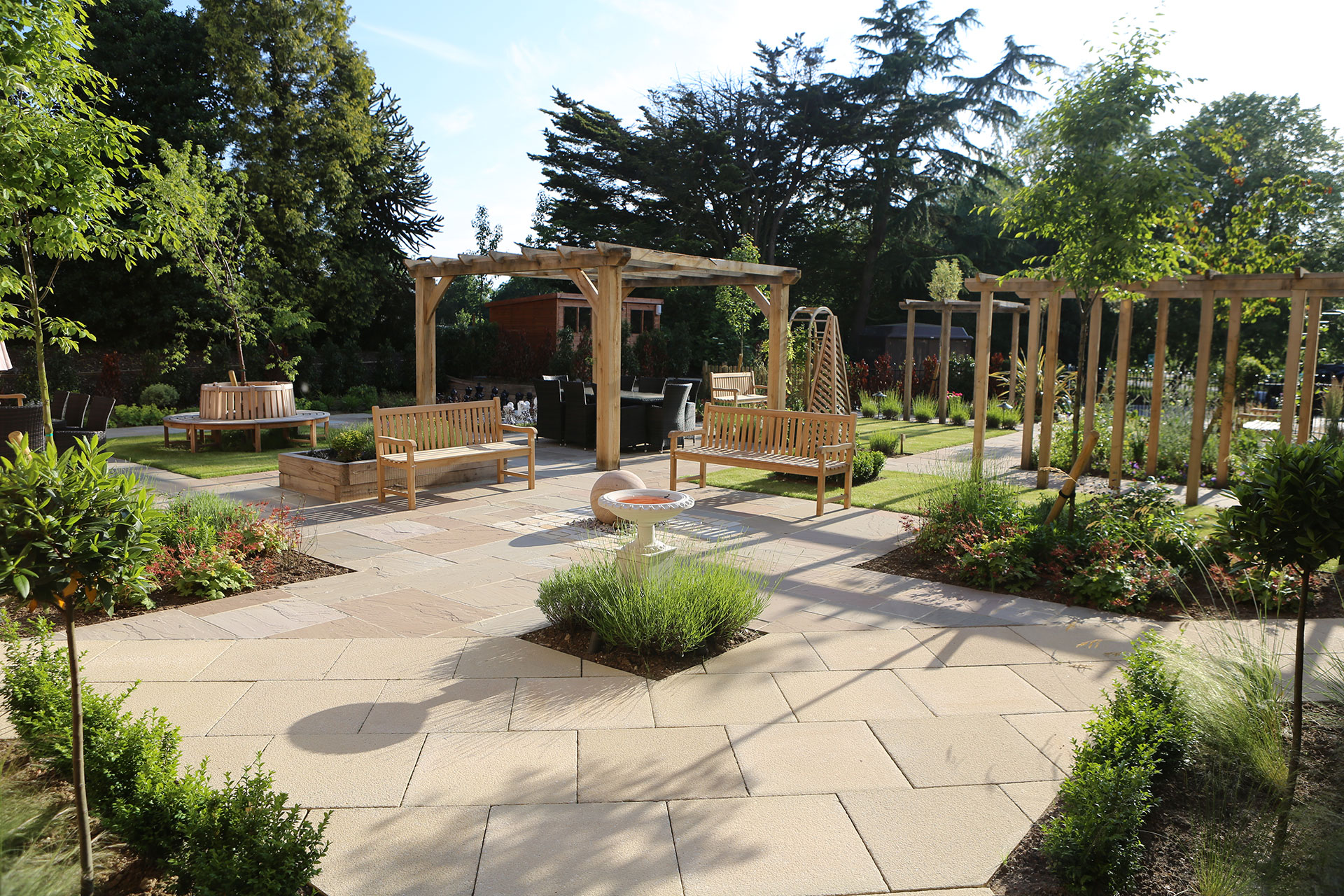 PARK VIEW CARE HOME IPSWICH | Aralia Garden Design ... on Home Backyard Ideas id=71351