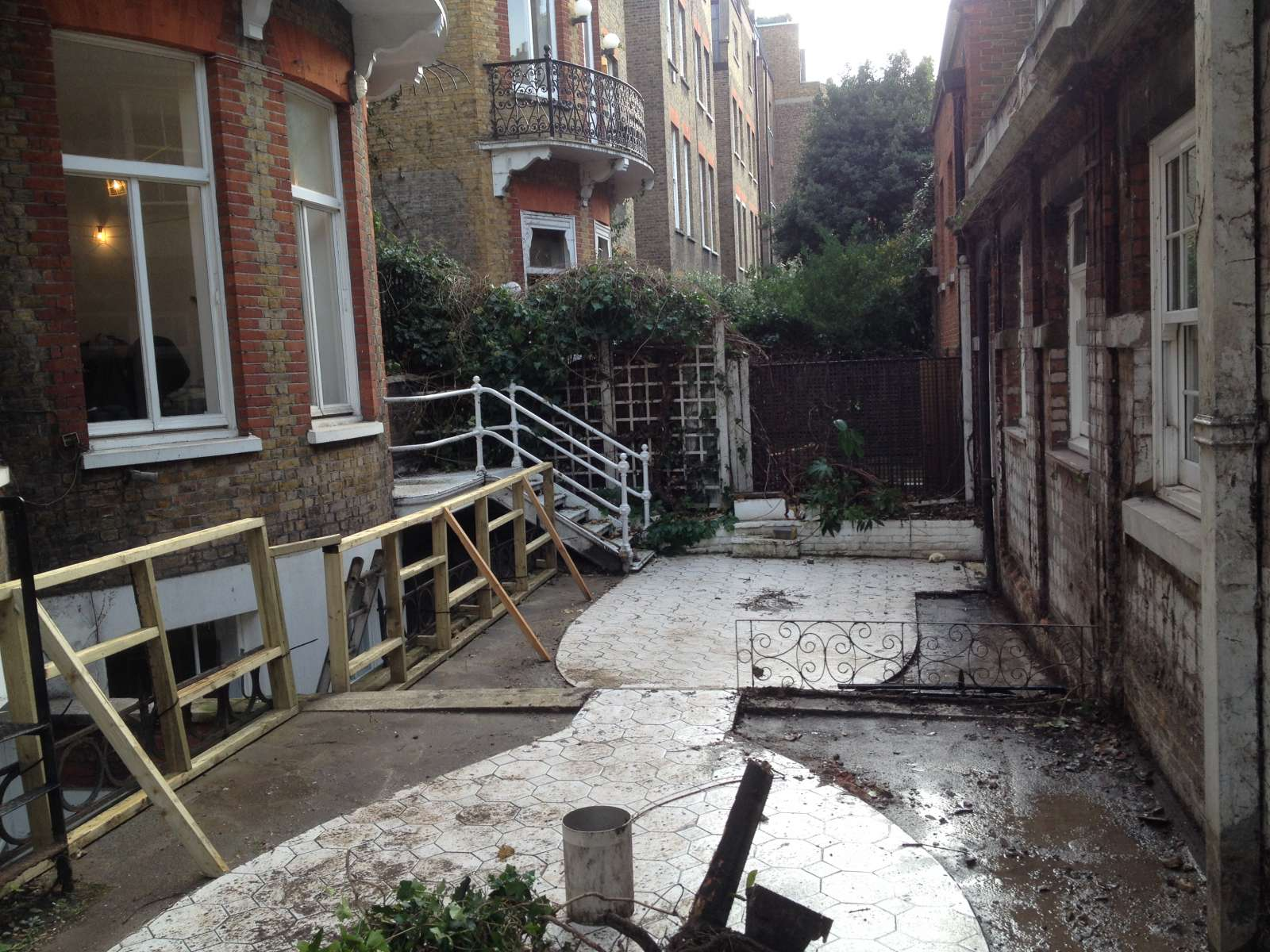 the trials tribulations of a london roof terrace design